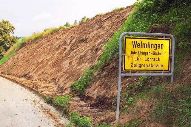Unwetterfolgen beschäftigen Landwirte und Anwohner