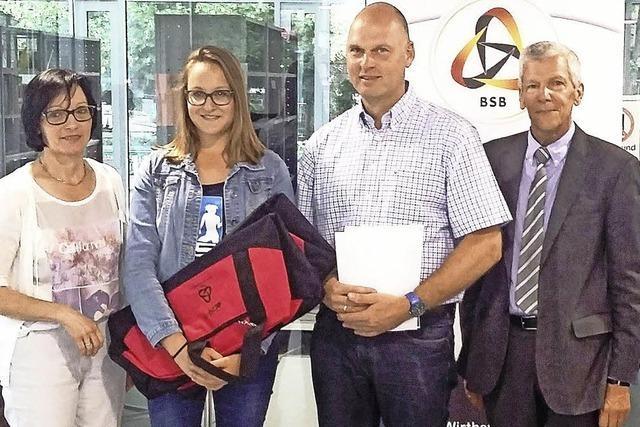 TuS und Realschule freuen sich über Auszeichnung vom Sportbund