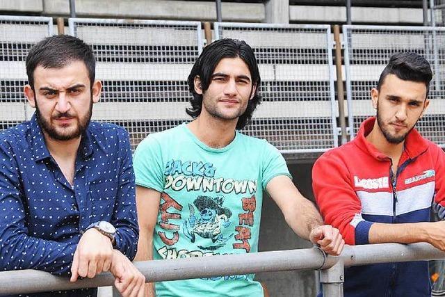 Junge Syrer sind frustriert vom schleppenden Asylverfahren