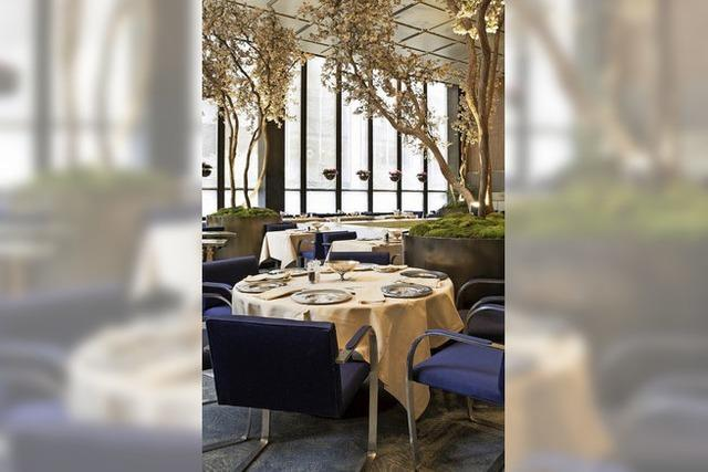Das Restaurant Four Seasons in New York schließt