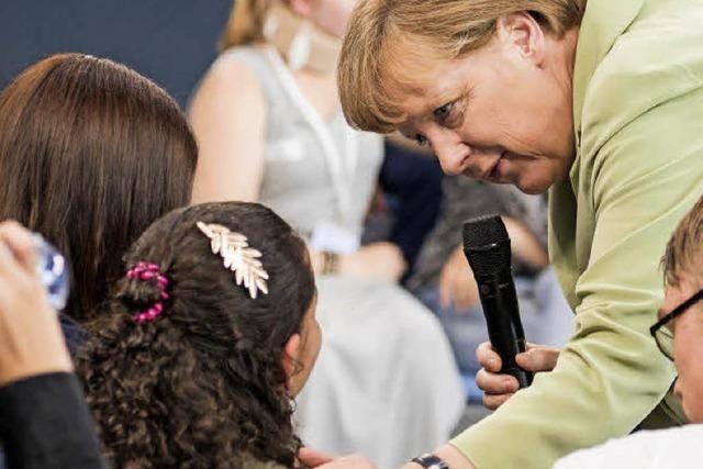 Merkel-Treffen machte Mut