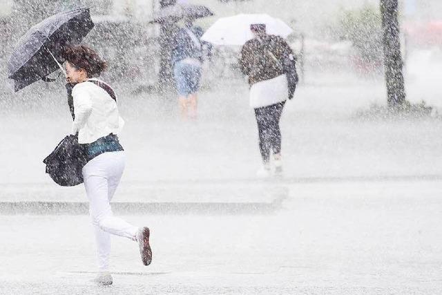 Unwetterwarnungen für einzelne Gemeinden kommen