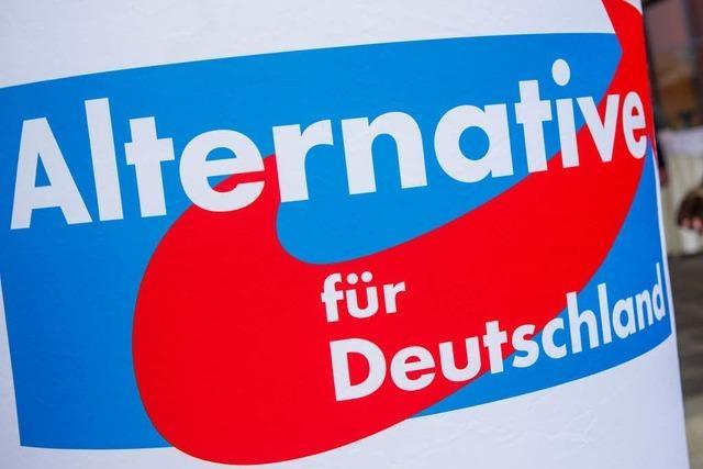 Unbekannte werfen Farbbeutel auf Kanzlei von Freiburger AfD-Politiker