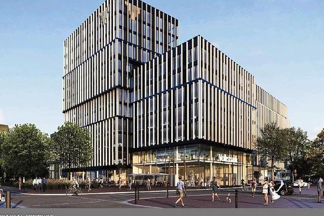 So soll das neue Volksbankgebäude aussehen