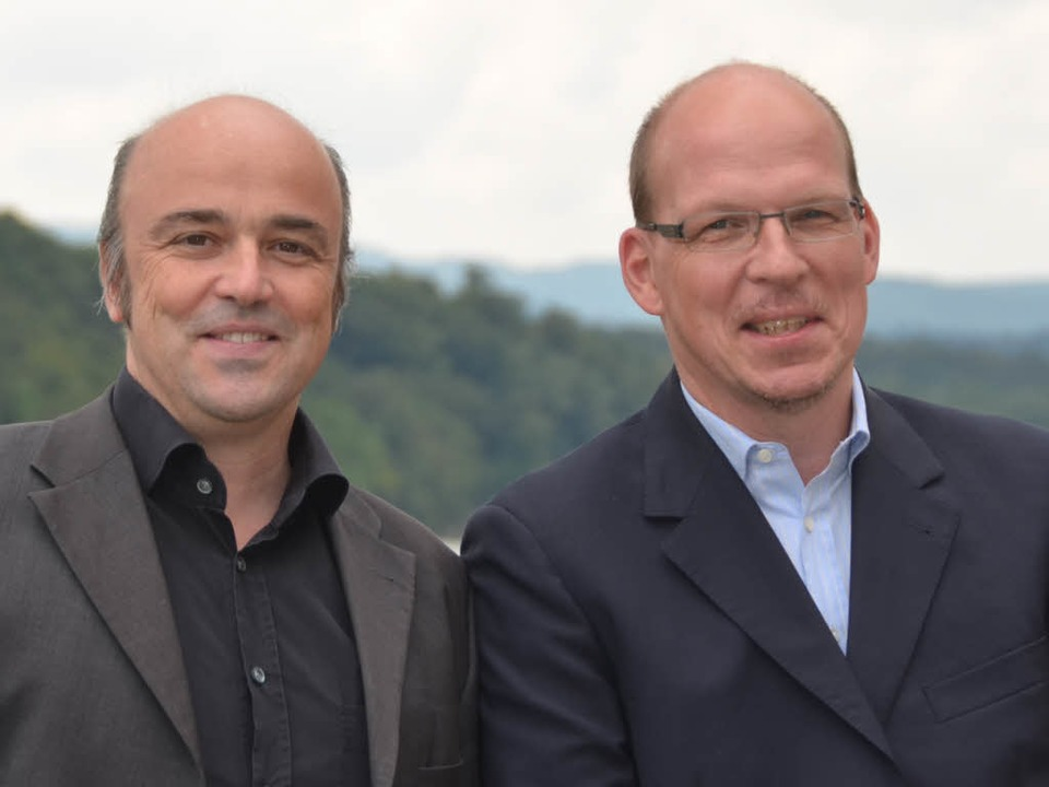Neuer Besitzer und neuer Pächter von S...ks): Kai Flender und Christian Herzog   | Foto: Verena Pichler