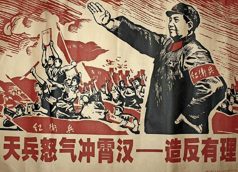 Mao ruft zur Revolution    Foto: dpa