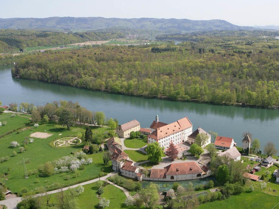 Schloss Beuggen ist ein Kleinod am Hochrhein.  | Foto: dpa