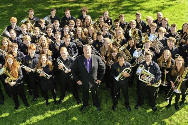 Hampshire Country Youth Band in Badenweiler