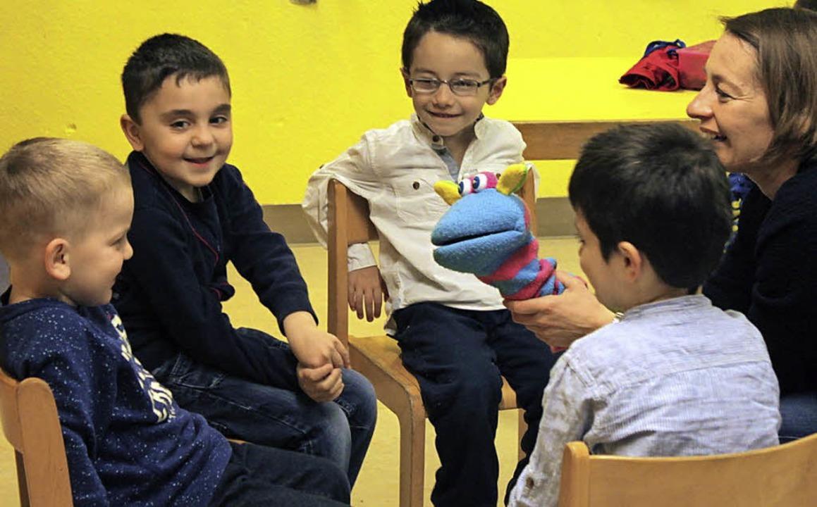 Die Sprache erlernen im Kindergarten   | Foto: Kindergarten