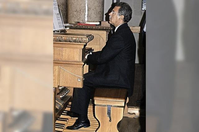 Juan Paradell Solé, Organist der Päpstlichen Capella Sistina im Vatikan, in St. Blasien