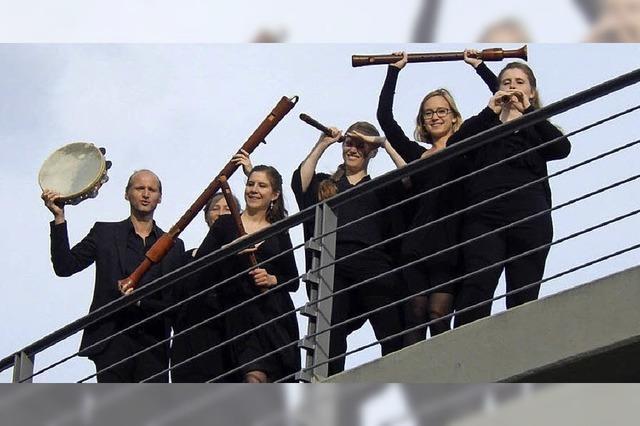 Flaut Consort spielt Renaissancemusik im Dominikanerkloster Freiburg