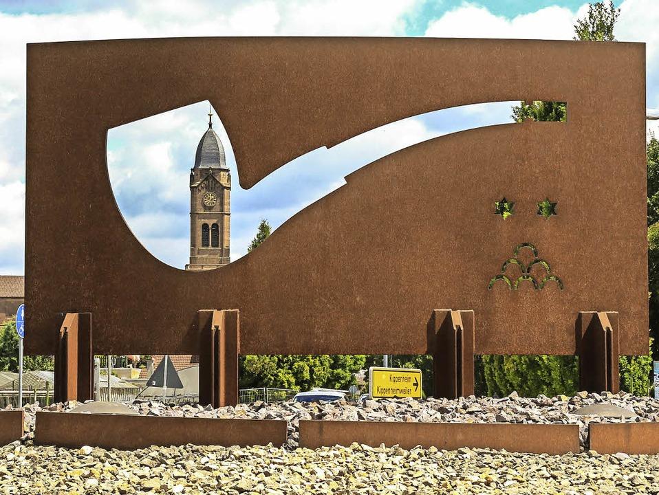 Ob dieses Kunstobjekt auch weiterhin d...rwaltungsgericht Freiburg entscheiden.    Foto: Sandra Decoux-KOne