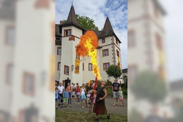 Feuer und Flamme fürs Mittelalter