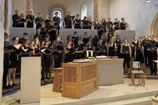 Die Evangelische Studentenkantorei singt in Sulzburg und Freiburg
