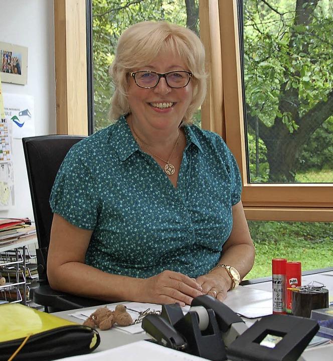 Die Rektorin Ursula Horny geht in den  Ruhestand.   | Foto: Wolfgang Beck