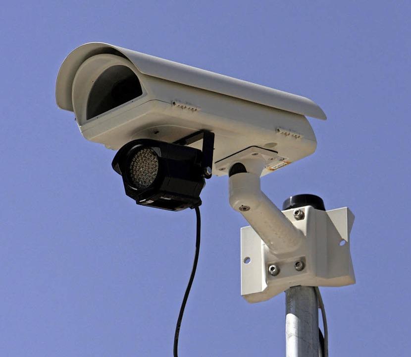 Im Sinne des Datenschutzes dürfen die ...ngangsbereich des Reviers überwachen.   | Foto: dpa
