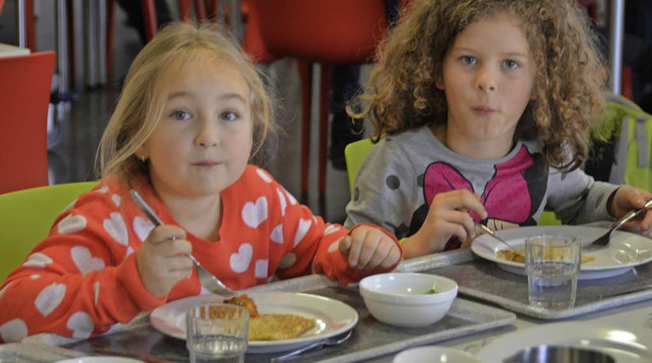 Mittagstisch an den Grundschulen soll bald Standard werden.   | Foto: GerhaRD Walser