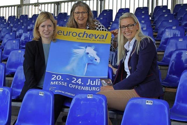 Eurocheval in Offenburg mit 500 Pferden und 400 Ausstellern
