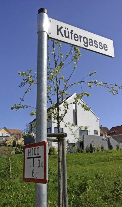 In Ötlingen soll es ein neues Baugebie...e Erschließung lässt auf sich warten.   | Foto: Lauber