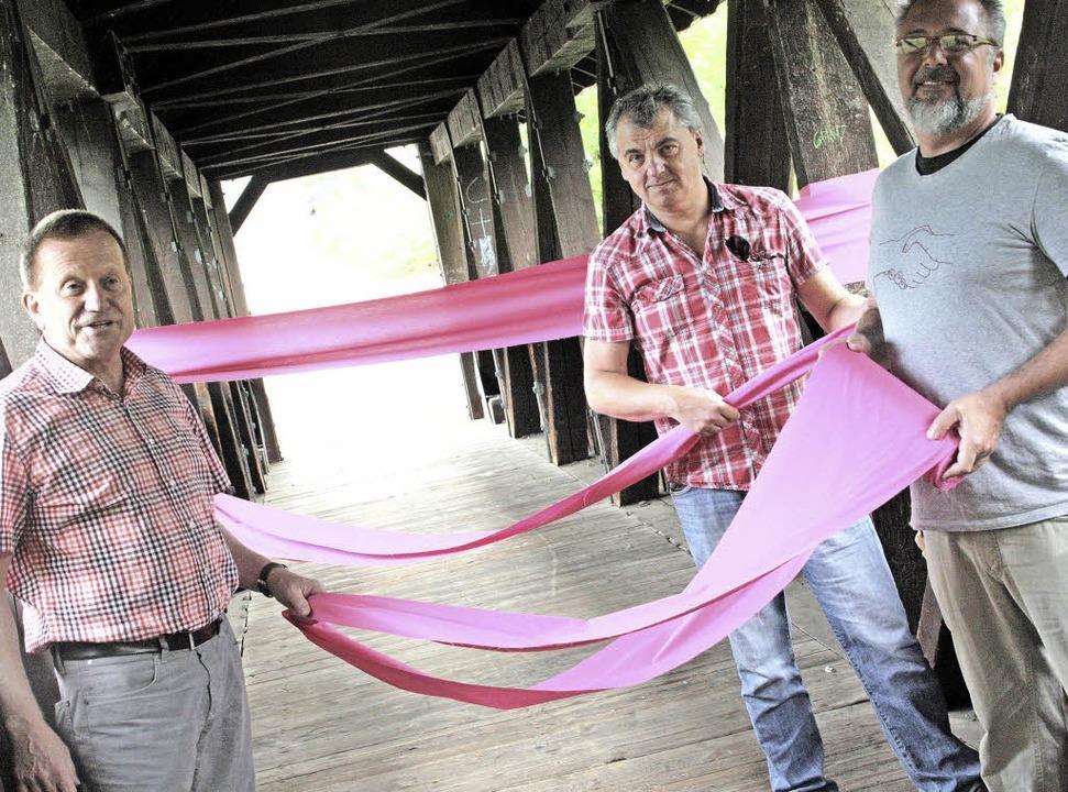 "Fernando van Geeteruyen (rechts) will ...jekt ""Nah(t)"" mit im Boot.    Foto: Jörn Kerckhoff"