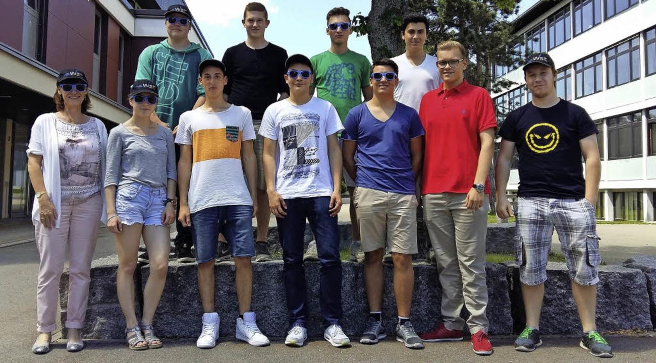 Diese Schüler gingen bei WST in Löffin...deutsche Unternehmen attraktiv macht.     Foto: privat