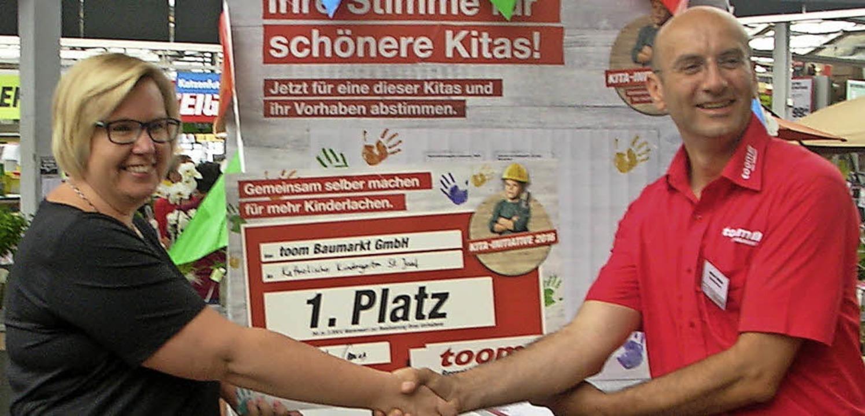 <BZ-FotoAnlauf>St. Josef:</BZ-FotoAnla... Kindergartenleiterin Martina Rückert.  | Foto: Veranstalter