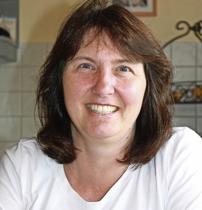 Eva Jost ist Vorsitzende der Landfraue... Ortsteils jeder mithilft, wo er kann.    Foto: Martha Weishaar