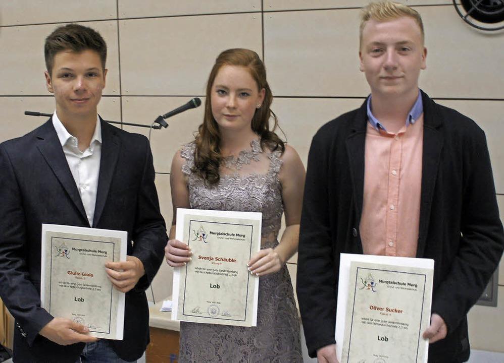 Ein Lob erhielten zum Abschluss die dr...häuble und Oliver Sucker (von links).   | Foto: Reinhard Herbrig