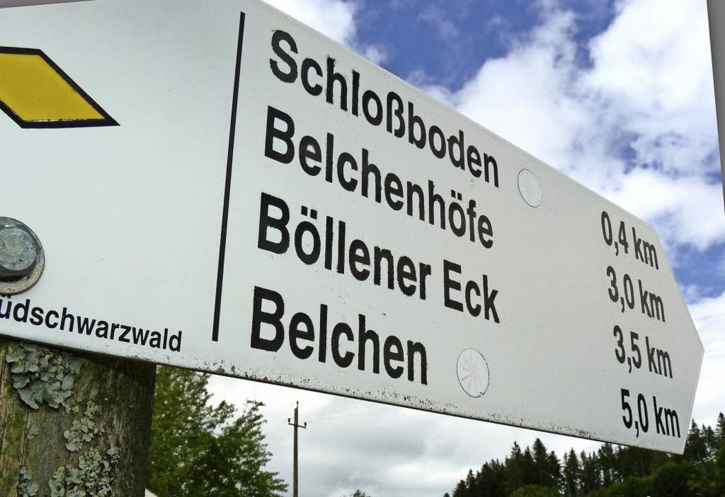 Entscheidender Hinweis: Der Name Schlo...telalter weitgehend identisch genutzt.  | Foto: Sattelberger