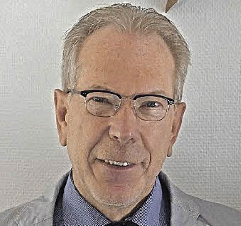 Reinhold Scheer.     Foto: ZvG