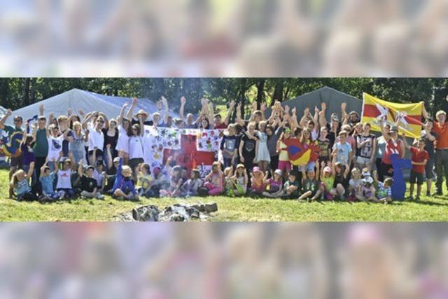 93 Jugendrotkreuzler hatten zwei Tage Spaß in Hütten