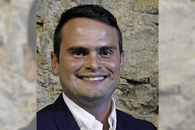 Adrian Hurrle will für die FDP in den Bundestag