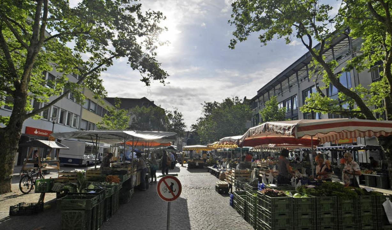 Der eigentliche Marktplatz erfüllt sei... in letzter Zeit Schaden genommen hat.    Foto: Barbara Ruda