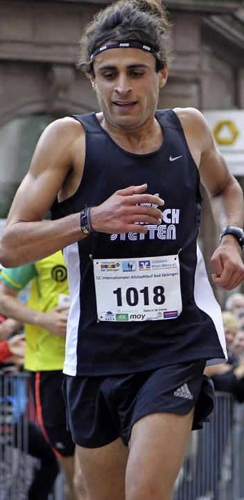 Omar Tareq kam als erster beim Grand-Prix-Lauf ins Ziel.  | Foto: Theresa Tröndle
