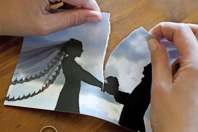 Weniger Ehen scheitern