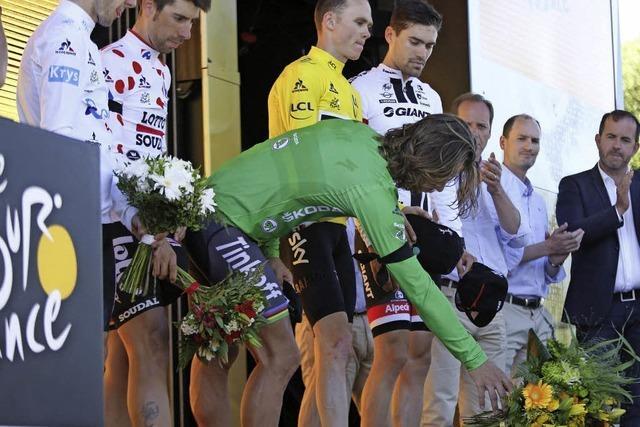 Zeitfahren nach dem Schock - Dumoulin gewinnt 13. Tour-Etappe