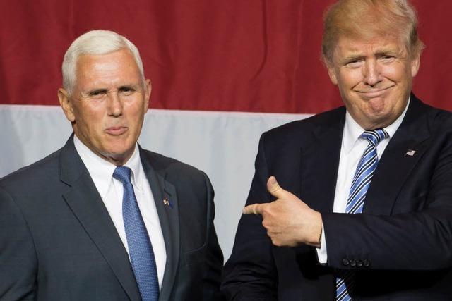 Trump macht Mike Pence zum Vize-Kandidaten