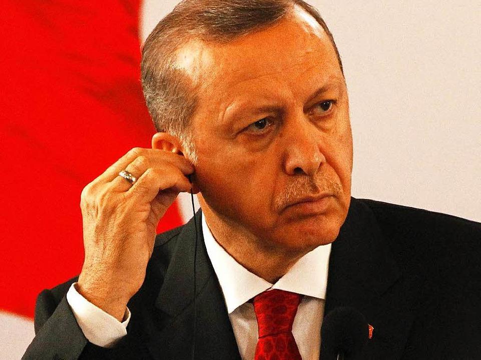 Recep Tayyip Erdogan. (Archivbild)  | Foto: dpa