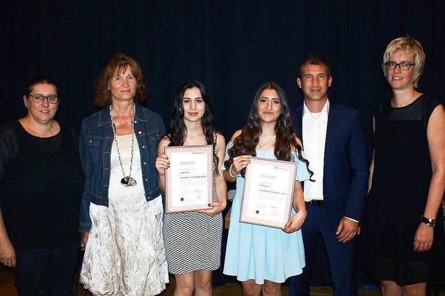 Landespreis für Dilara Akin und Yasemin Ortac