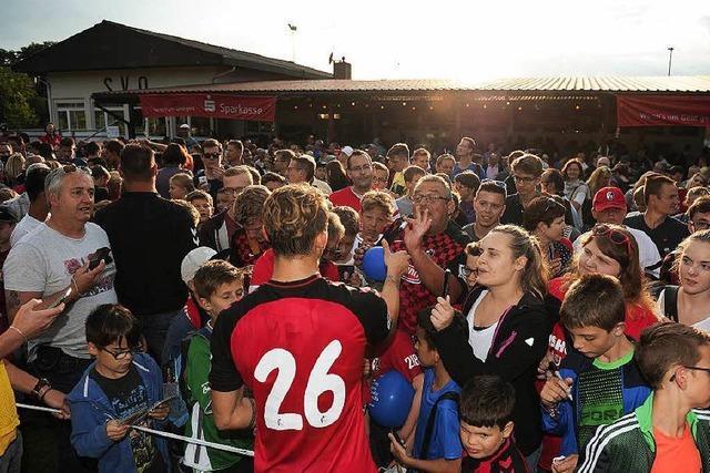 SC Freiburg und SV Oberschopfheim – Grund zum Jubeln