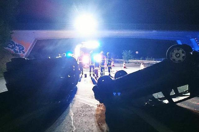 27-Jähriger verursacht als Geisterfahrer Unfall auf der B 3