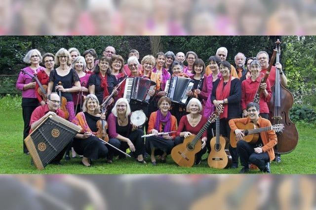 Prova Folklore Orchestra in Badenweiler