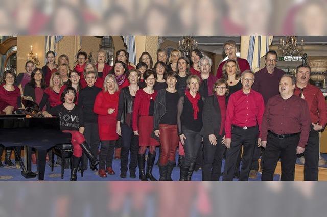 20 Jahre Rock-, Pop- und Gospelchor Popchor'n aus Hinterzarten in Breitnau