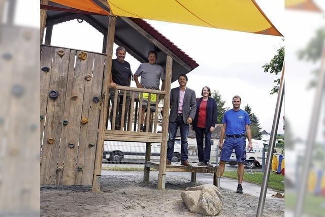 Gemeinde investiert 15000 Euro in die Spielplätze