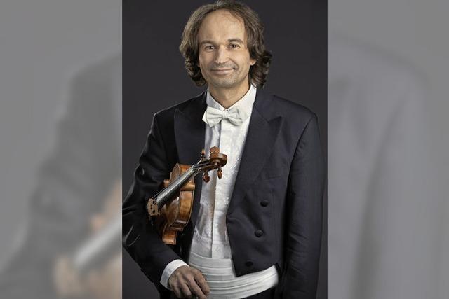 Heimspiel für einen großen Violinisten