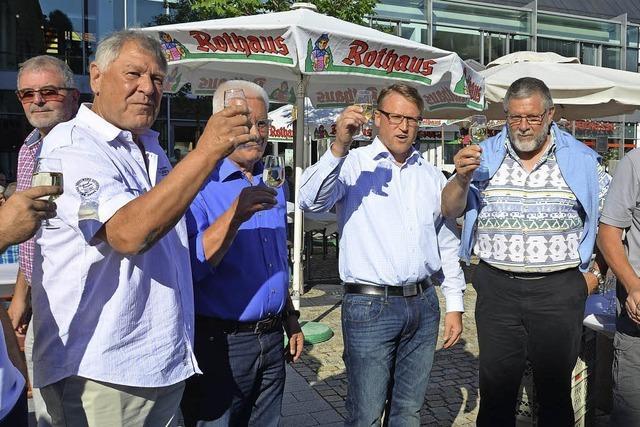 Bürgermeister wird zum Gutedel-Monarchen