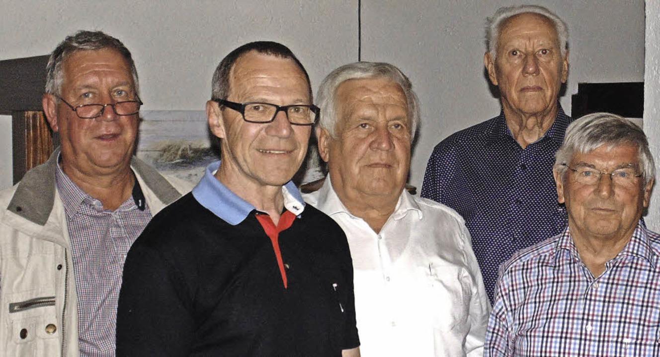 Ortsvereinsvorsitzender Herbert Steinm...r 25 Jahre Zugehörigkeit zur SPD Murg.  | Foto: Michael Gottstein