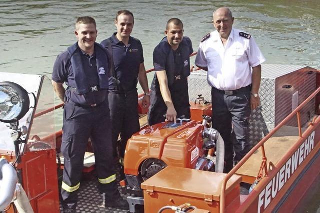Starke Tragkraftspritze für Weisweils Feuerwehr