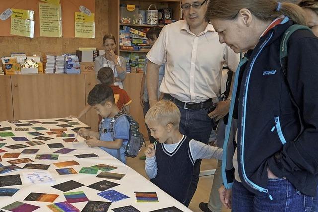 Drei Tage lang war die Abt-Steyrer-Grundschule in Sölden eine Kunstakademie