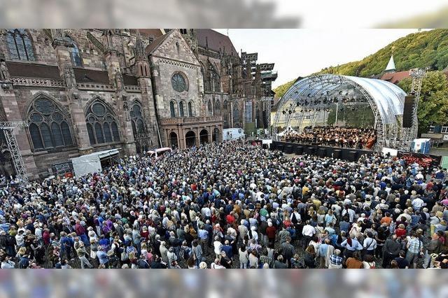 5000 Menschen kamen zum Abschieds-Open-Air des SWR-Orchesters